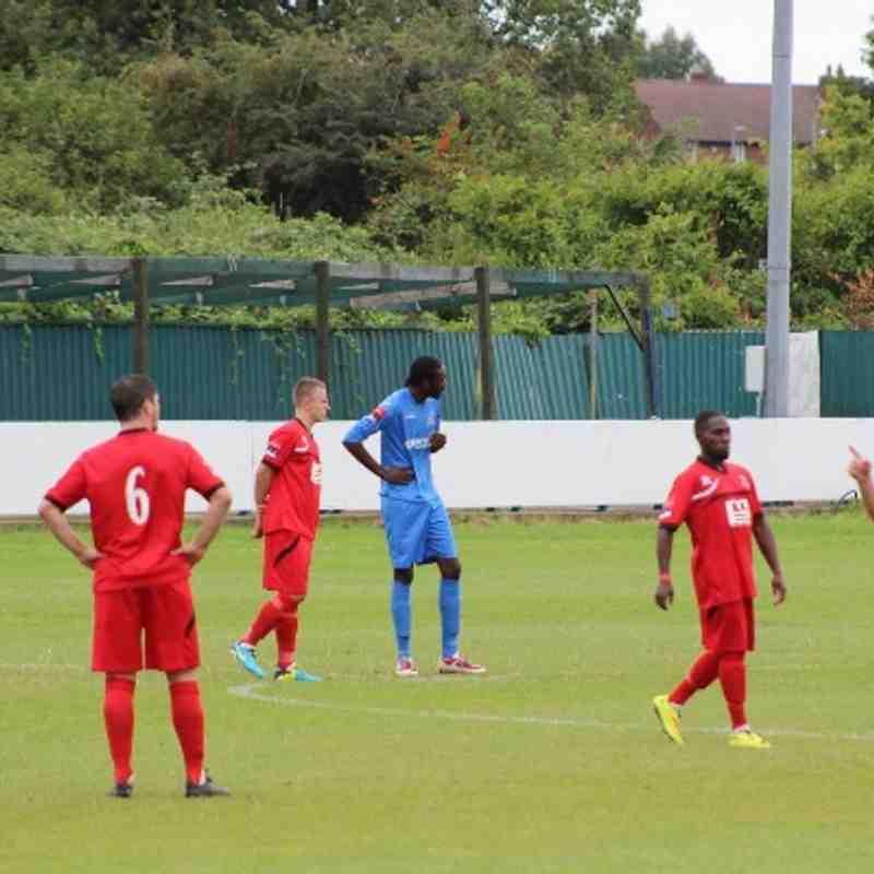 AFC Sudbury away at Redbridge (Cup Game) 30/08/2014