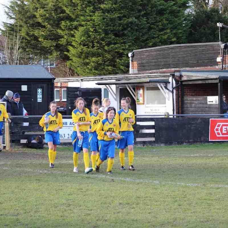 Royston Town FC Ladies vs AFC Sudbury Ladies 12/01/15