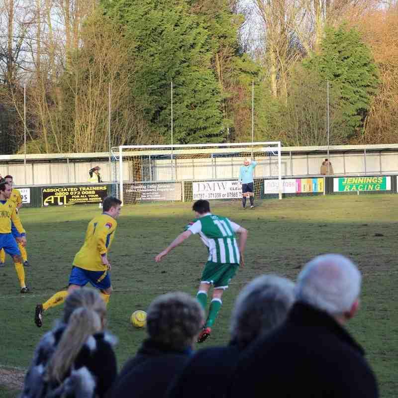 AFC Sudbury vs Great Wakering Rovers 24/01/15