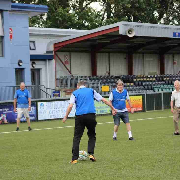 Walking Football Taster A Success
