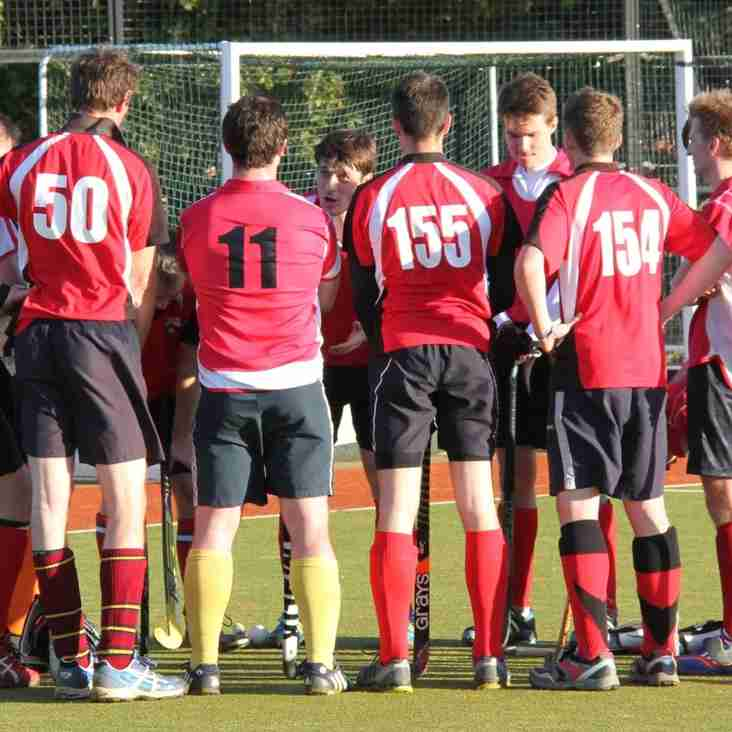 Strong Finish for Mens 2s