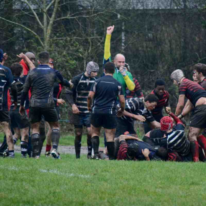 Harrow v Saracens 31st January 2016