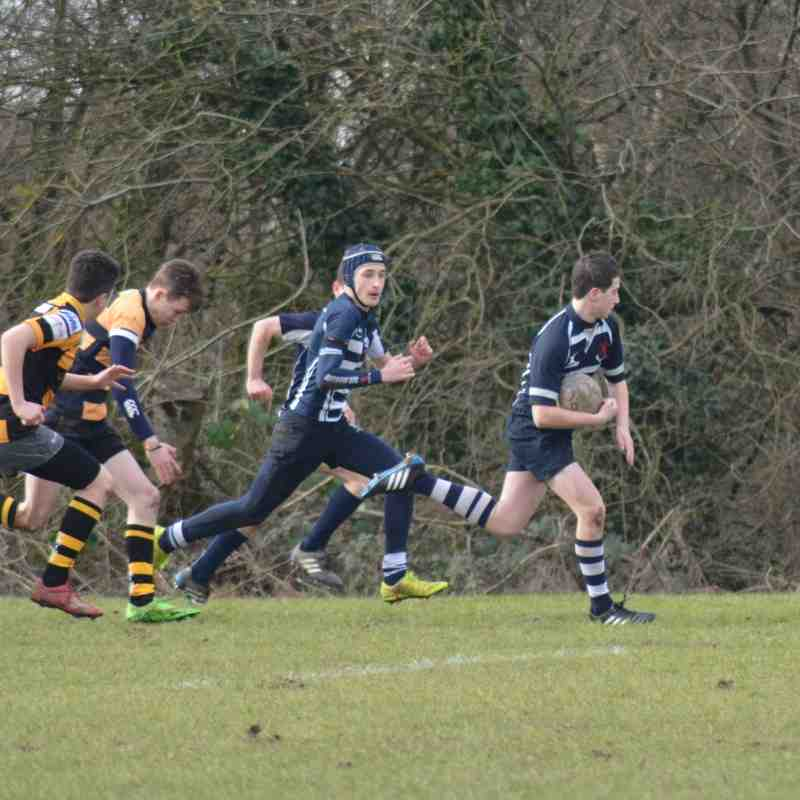 Harrow U15's v Tring  28th February 2016