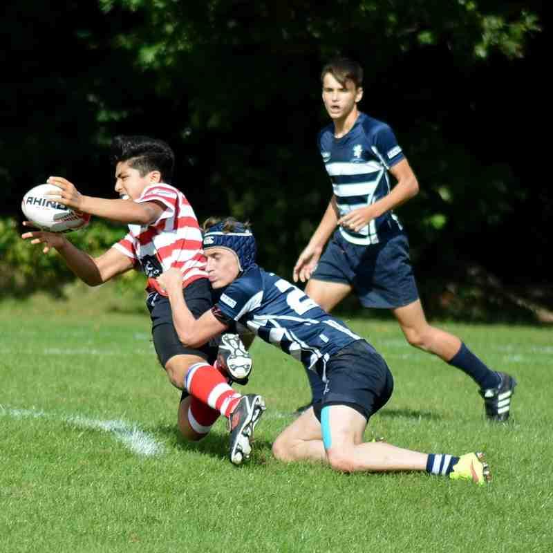 Harrow U16's v Finchley September 2016