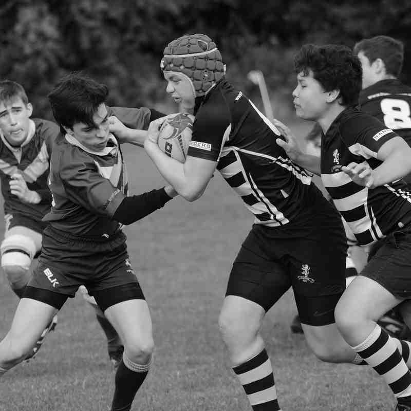 Harrow U16's v OV's October 2016