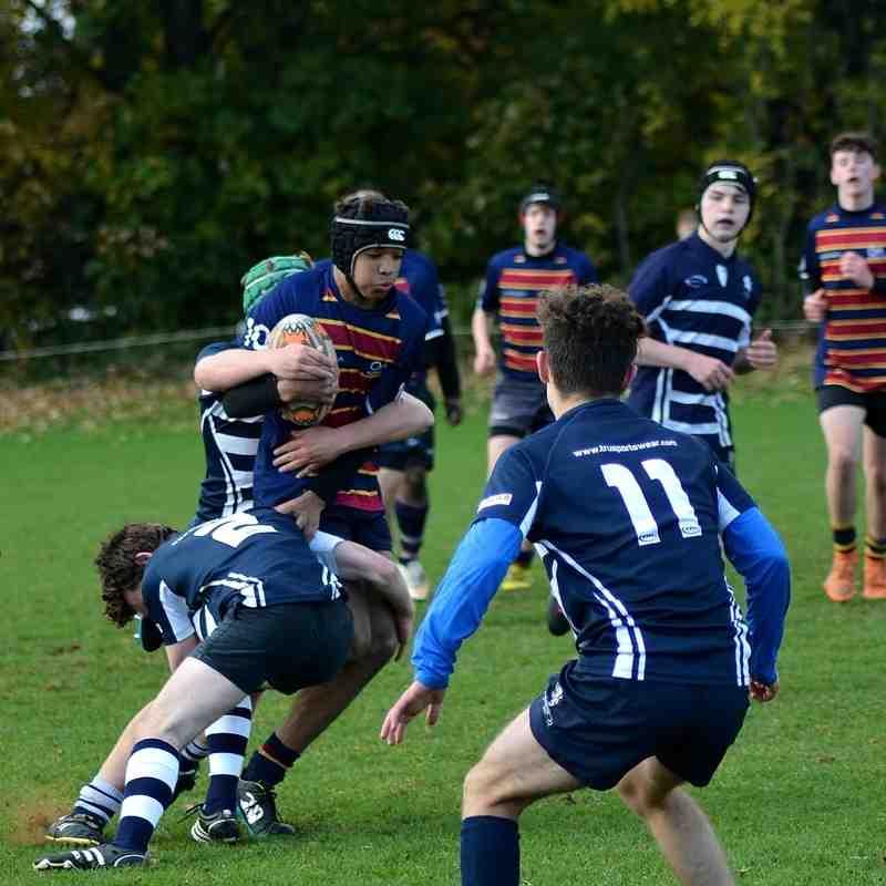 U16's v OA's November 2016