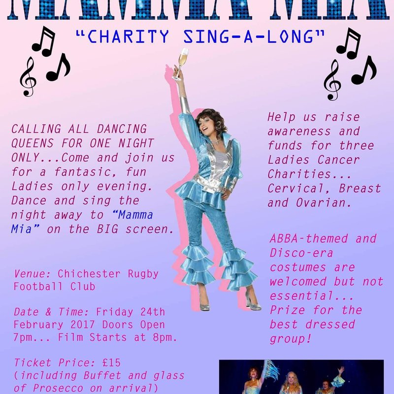 CALLING ALL DANCING QUEENS FOR ONE NIGHT ONLY