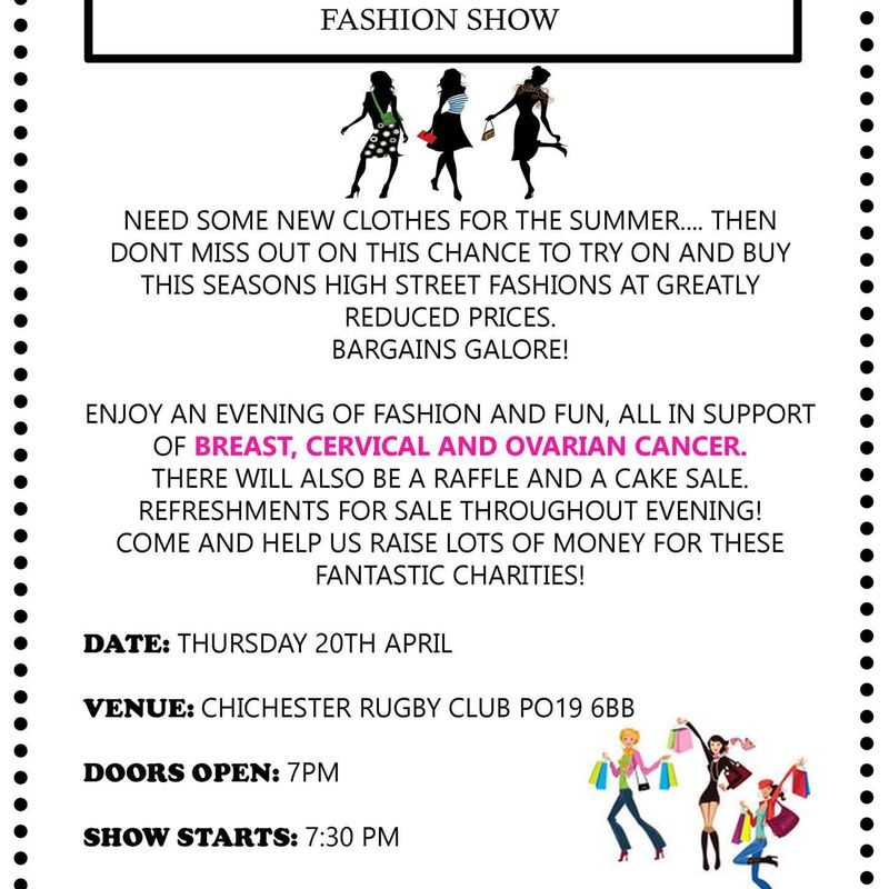 Travelling Trends Fashion Show for Charity.