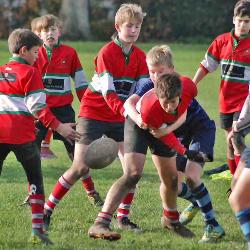 Chichester U12s v Petersfield 2018