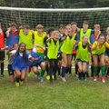 U14 Starz and Hurricanes raise money for Target Ovarian Cancer in testimonial match