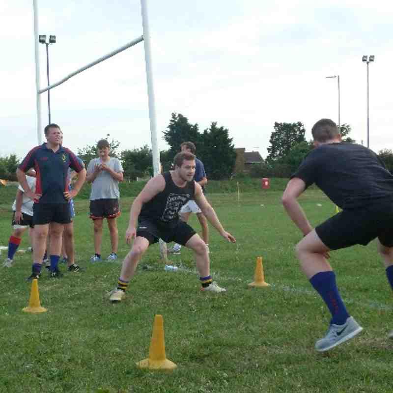 2014/15 Preseason Training - putting in the graft!