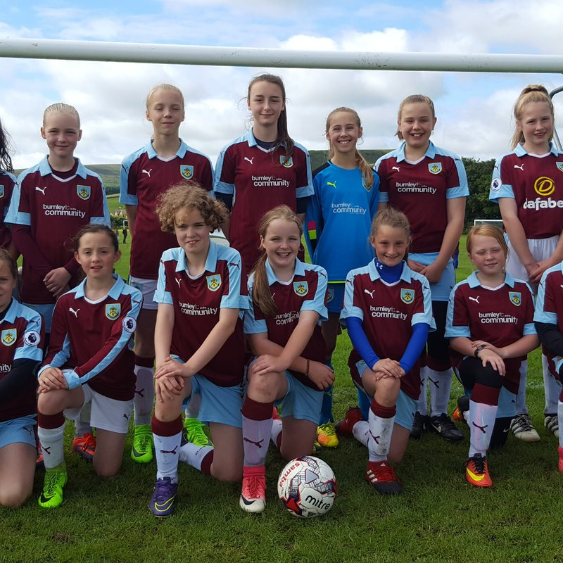 Under 12 lose to Blackpool Girls 1 - 3