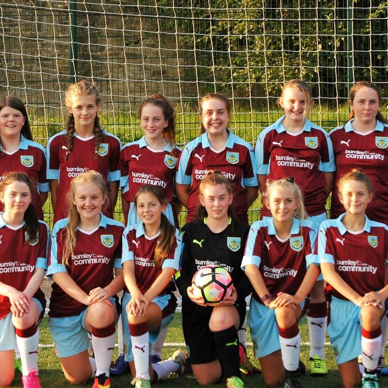 Under 15 lose to Blackburn & Darwen 2 - 4