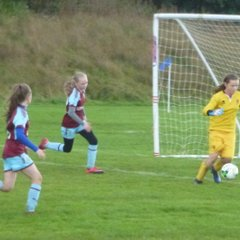 U12s v Blackpool Girls - 23 September 2017