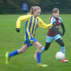 U12s v Euxton Girls - 28th October 2017