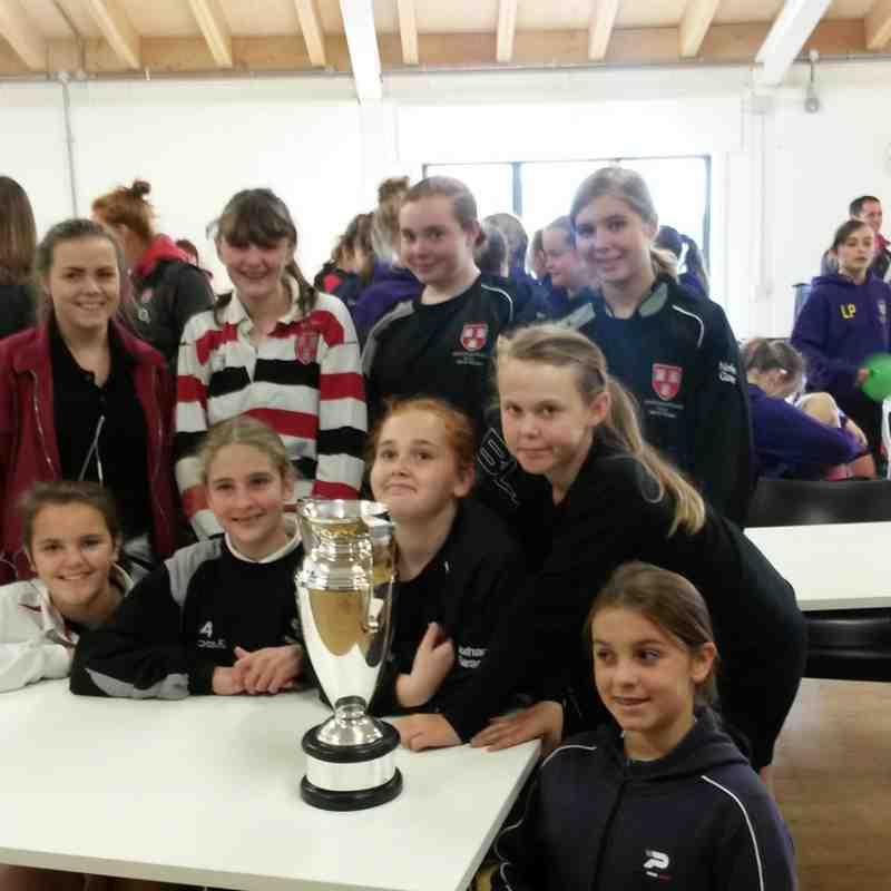 Novos Girls Rugby 2014-2015