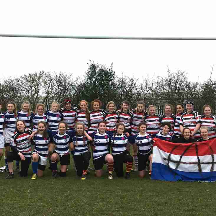 U15 Girls' Host Dutch Touring Team