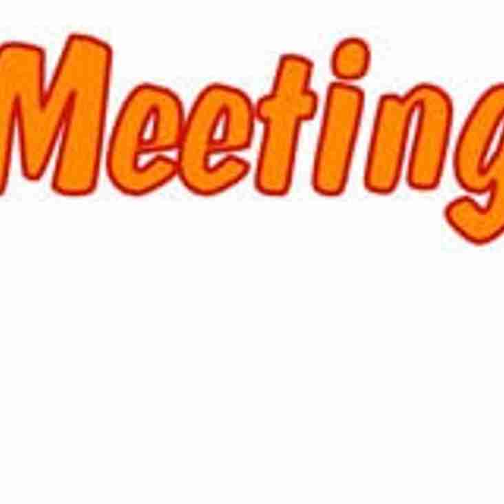 Open Meeting in Clubhouse Changed to Thursday 15th February at 8pm