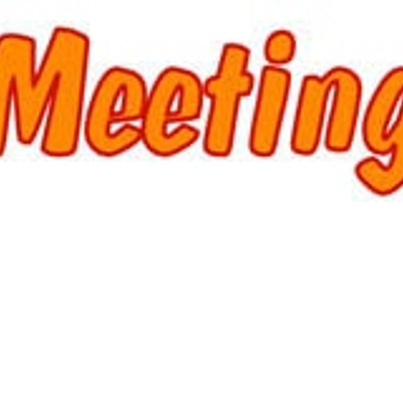 Open Meeting in Clubhouse Thursday 16th February at 8pm