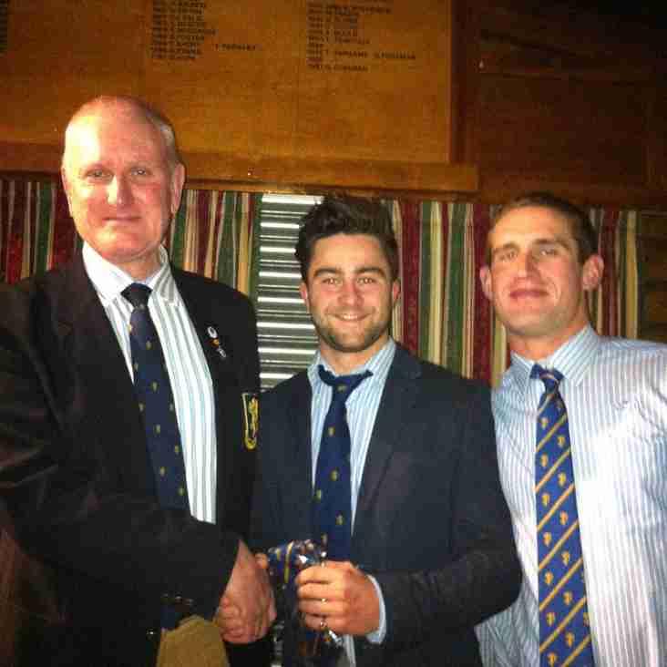 Congratulations to Hugh Todd