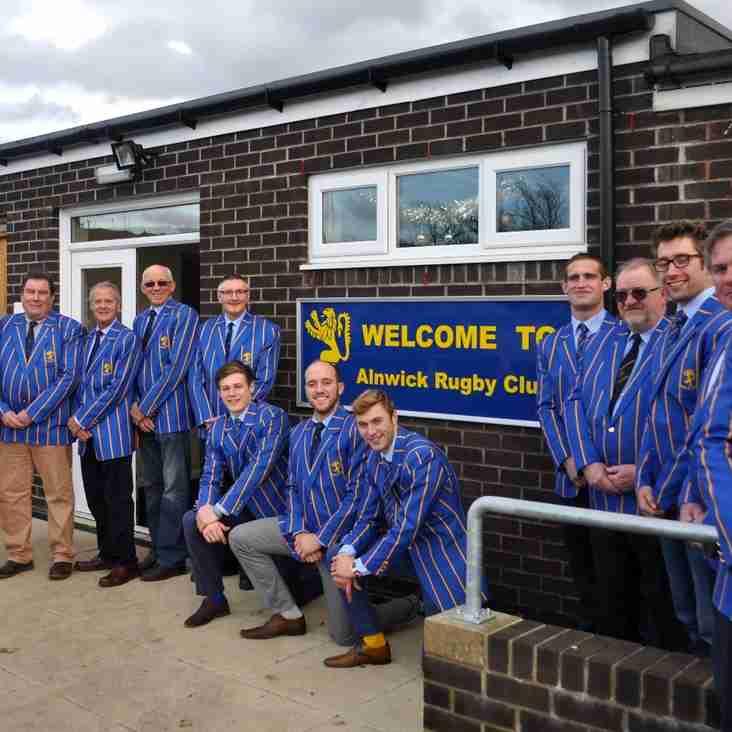 New Alnwick RFC Blazers Revealed