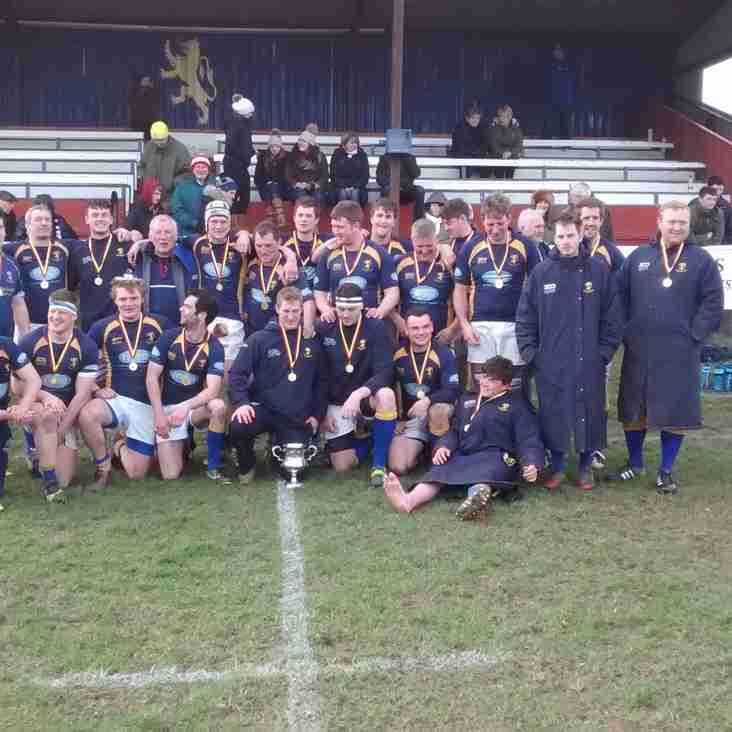 Alnwick 2nds Win Candy Cup Plate Final with Walk-over