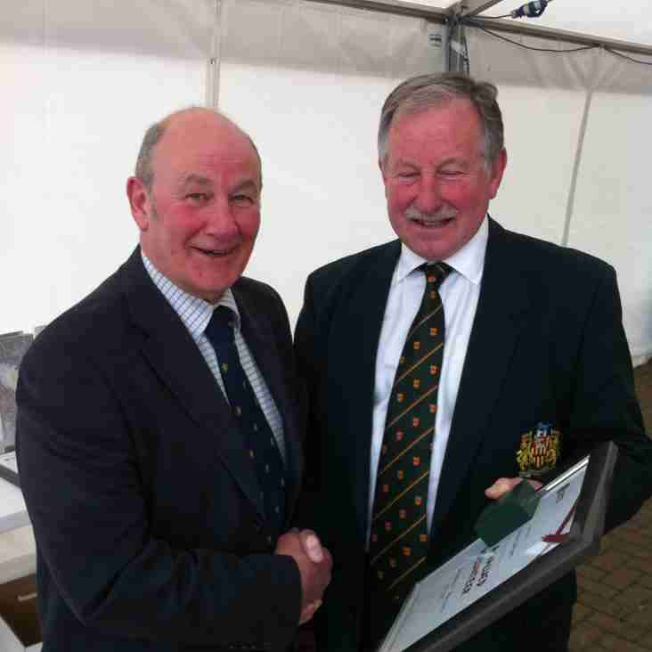 Alnwick's Owen Jackson Receives Northumberland County Award