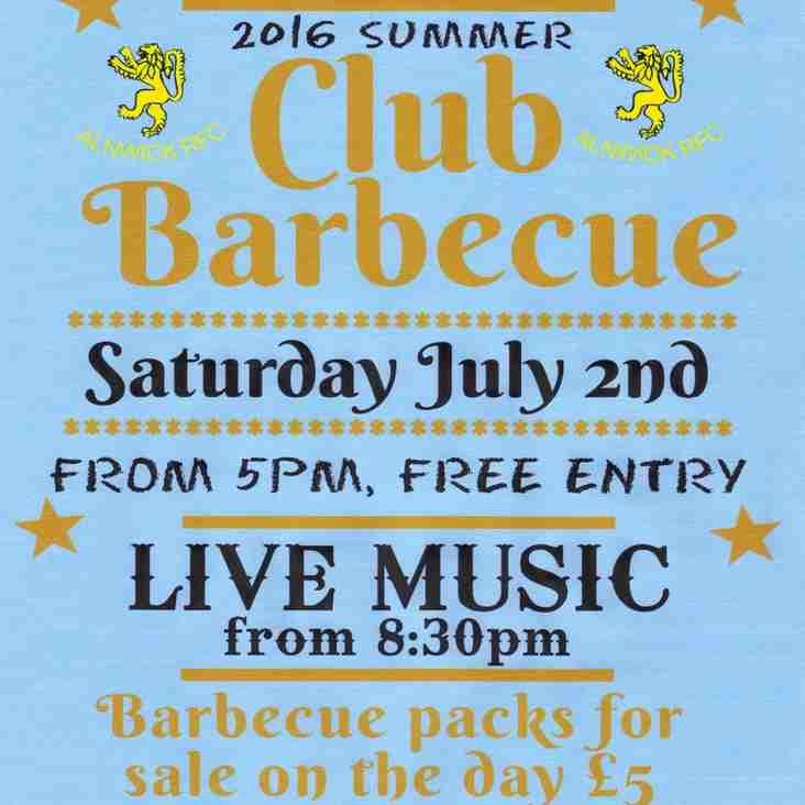 Alnwick RFC Summer Barbecue