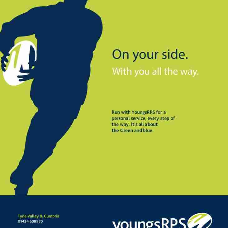 youngsRPS to Sponsor Penrith Match