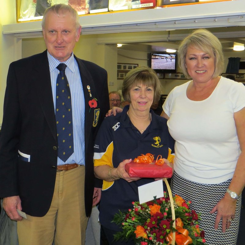 Club Presentation to Rosie Andrucci on her Retirement