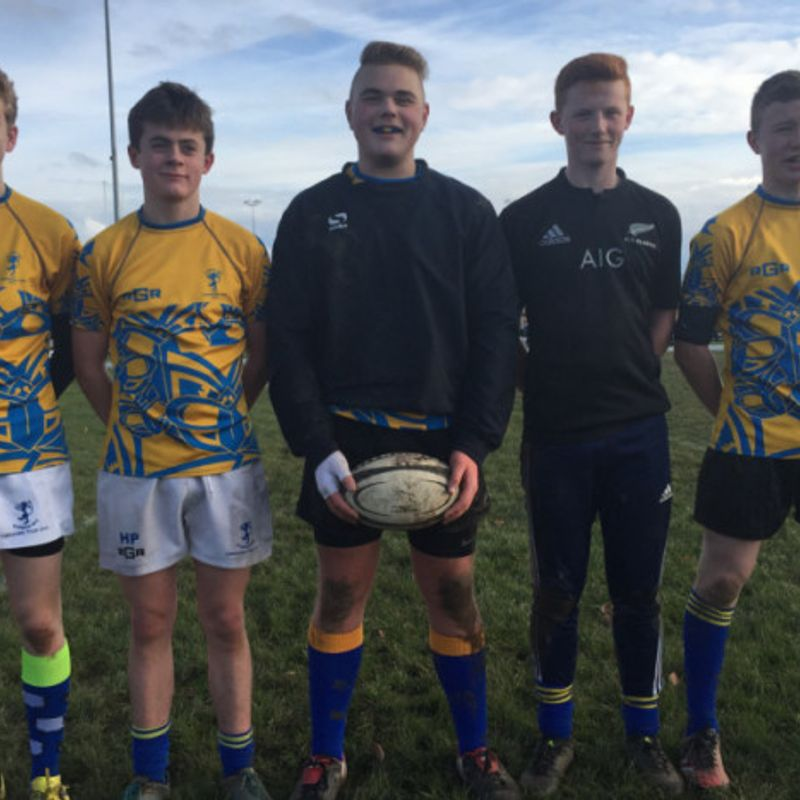 Five Alnwick boys are named in the Northumberland U15 squad