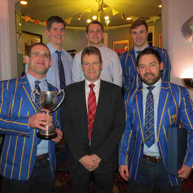 Alnwick Receive Team of the Year Award for 2016