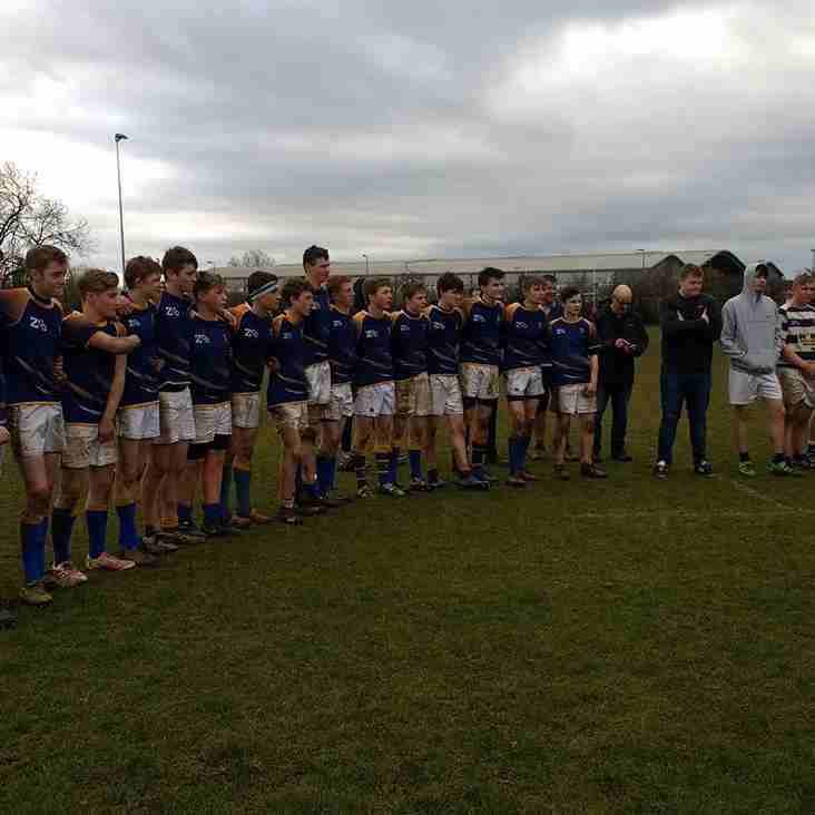 Alnwick u16's County Plate Winners