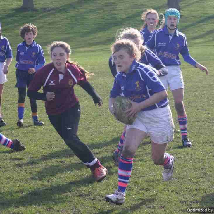 Alnwick Girls U13's Success!