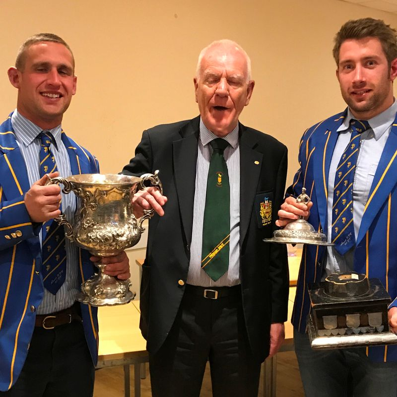 Alnwick RFC Presented with Northumberland County Awards