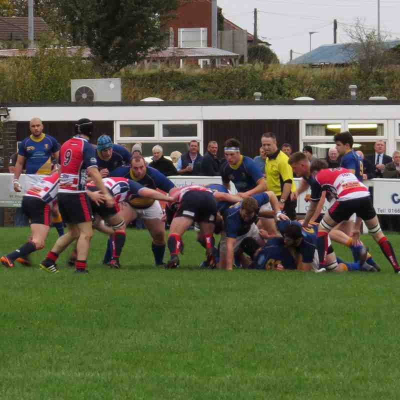 1st Team V Morpeth 14th October 2017