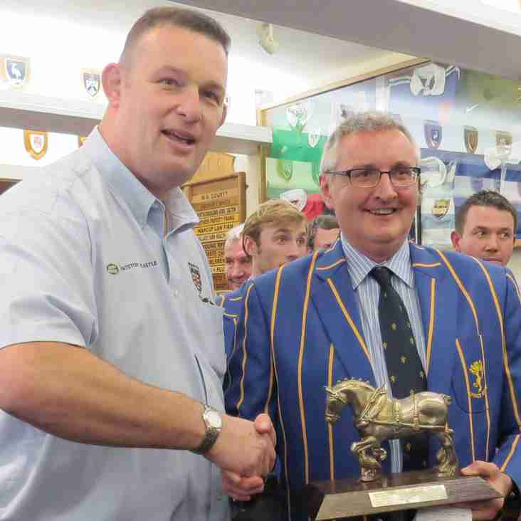 Alnwick Retain the Brett Fuel Trophy after Titanic Tussle