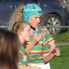 Girls u15's County v Cumbria