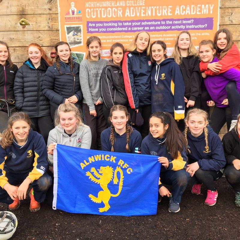 ARFC - U15's Girls - Team Building Adventures.