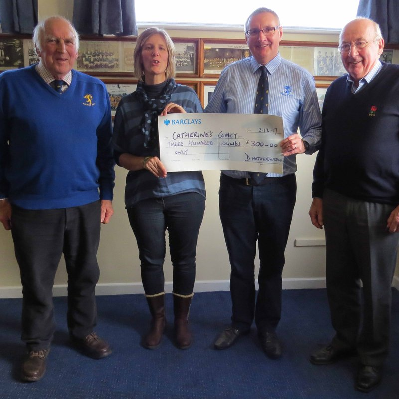 ARFC Makes Donation to Local Oncology Department
