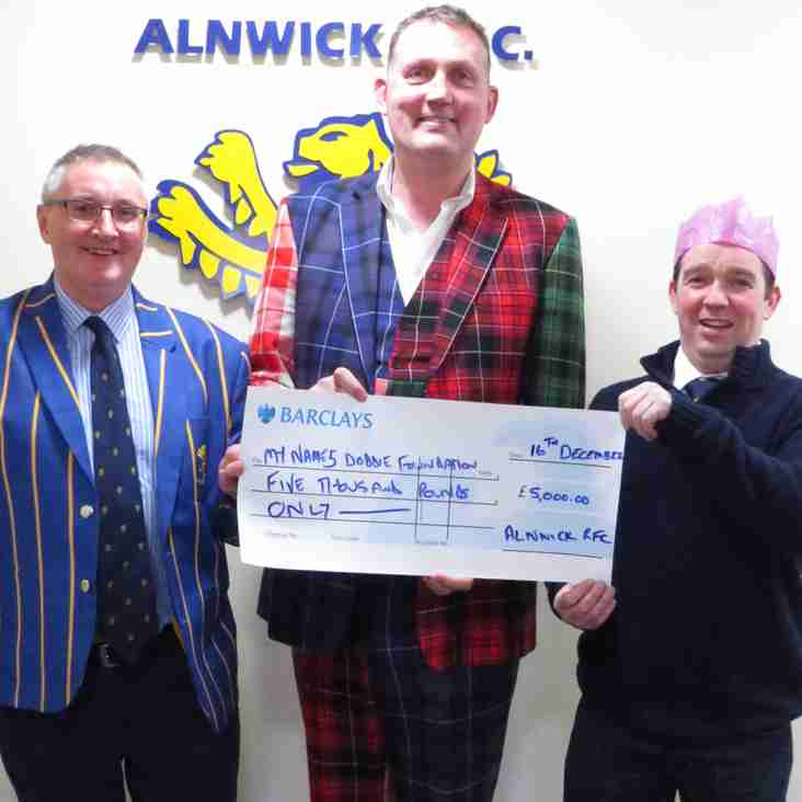 Big Doddie Steals the Show at ARFC Christmas Lunch