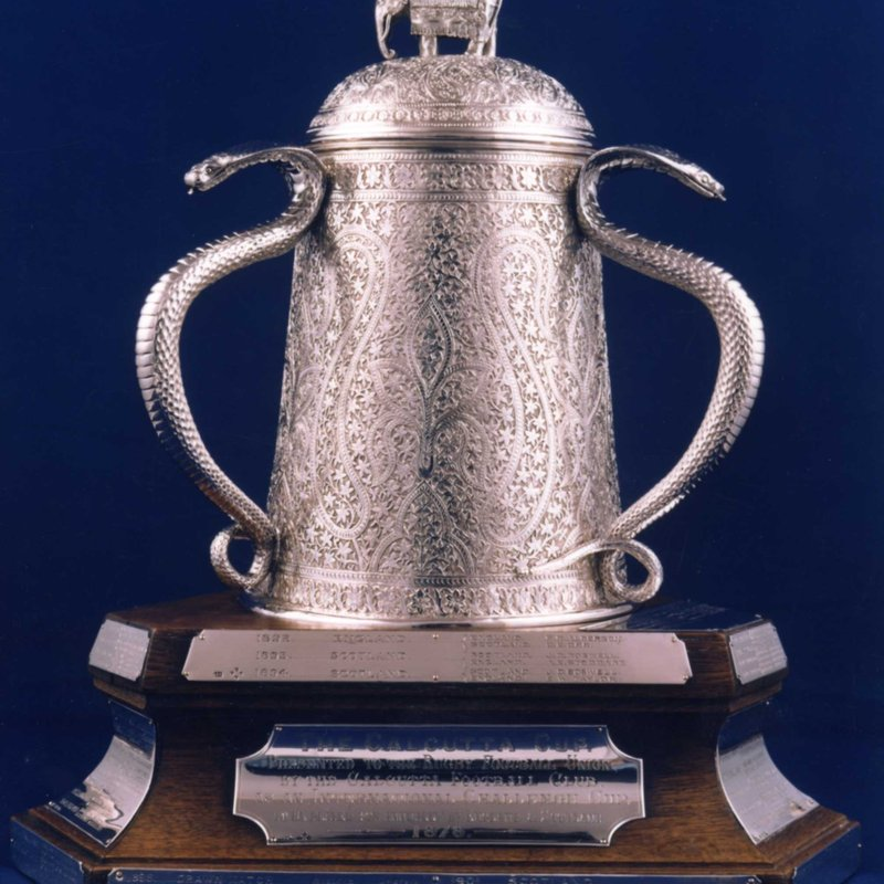 The Calcutta Cup, well would you believe it??