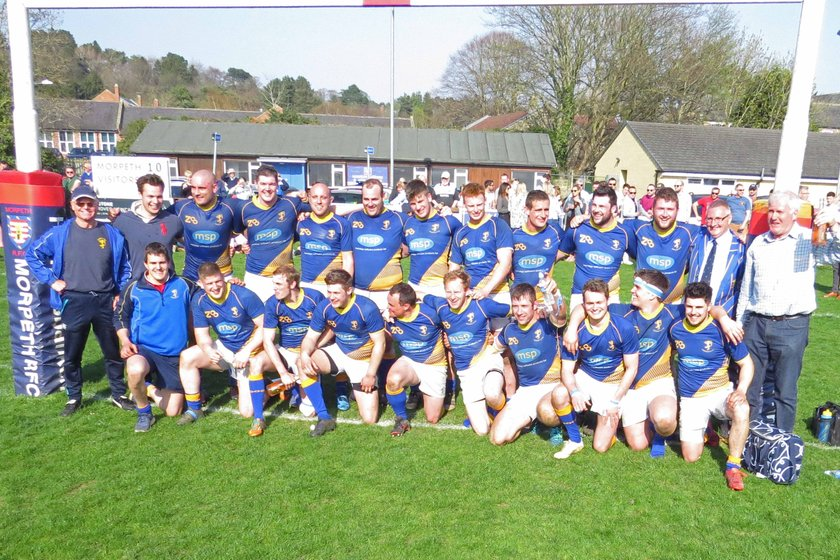 Alnwick RFC are North One East League Champions!