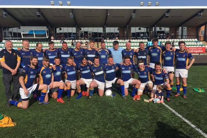 Alnwick Seconds Win Candy Cup Final!