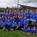 Alnwick U13's Girls at Alnwick Rugby Festival