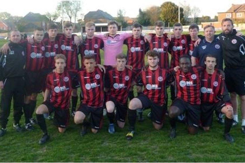 Under 18's beat Kings Hill B 1 - 3