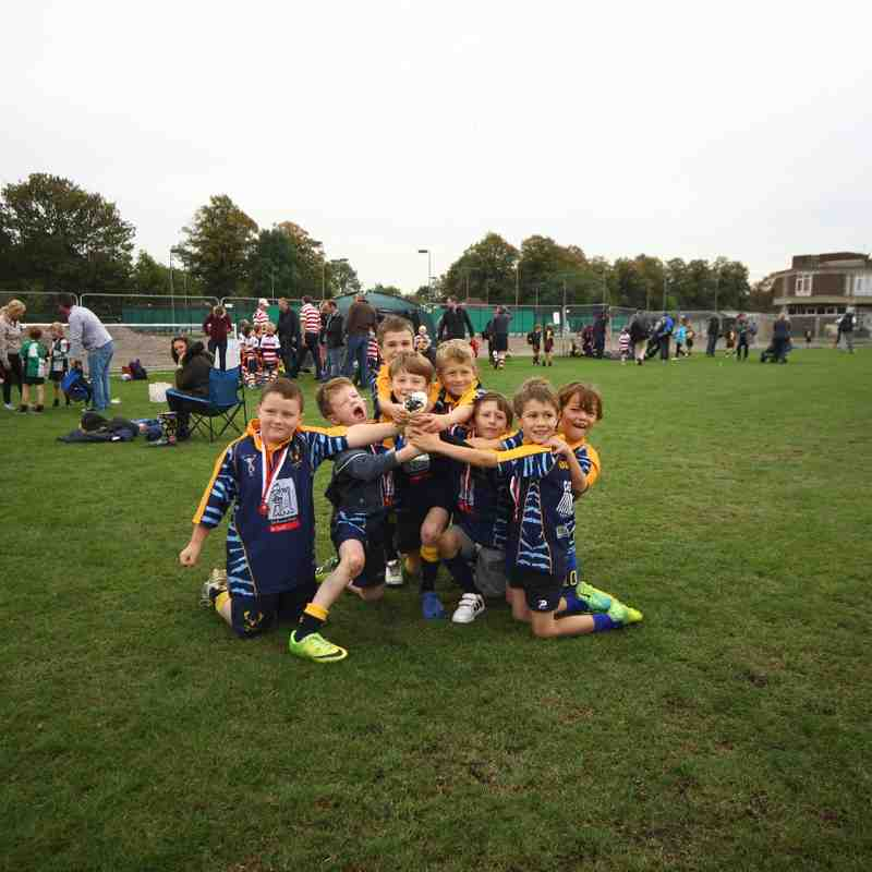 U7's A-Team at the Rosslyn Park A Festival - 12th Oct 2014