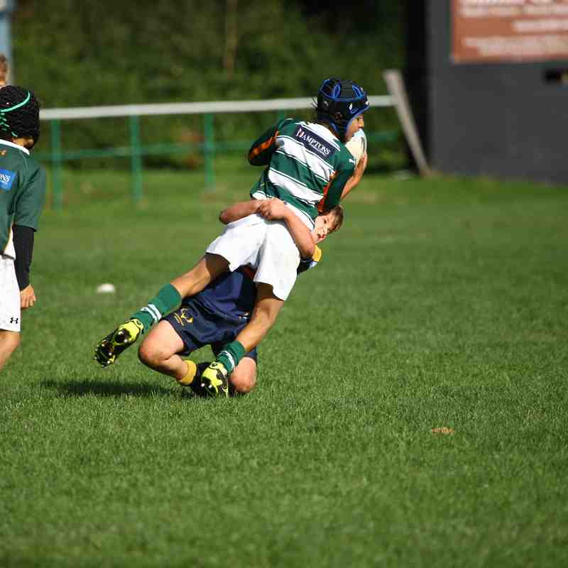"""U9's """"A"""" Team at London Welsh - 19th Oct 2014"""