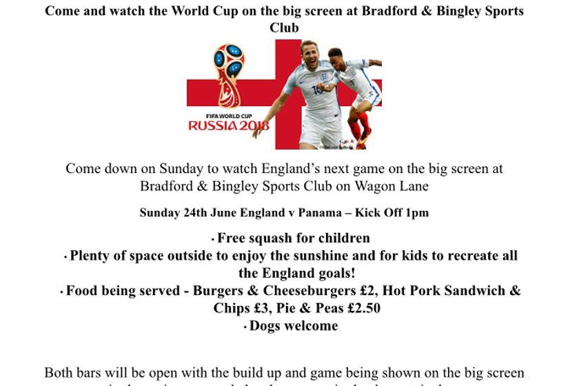 World Cup Sunday 24th June