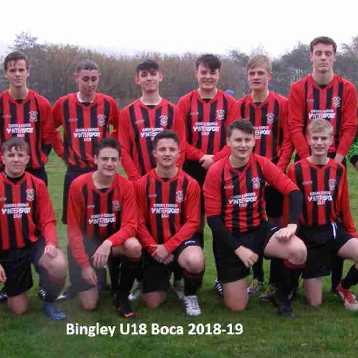 Bingley Under 18 Boca